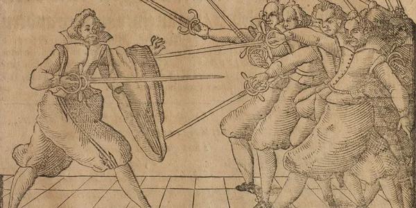 Фехтование: Один против нескольких Фехтование, Теория, Фехтование в литературе, Текст, Длиннопост