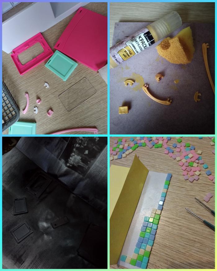 Долой розовый цвет! Полимерная глина, Рукоделие с процессом, Кукольный дом, Декор, Fix price, Длиннопост