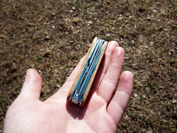 Сделал деревянные накладки на Victorinox Victorinox, Деревянные накладки, Кастомные ножи, Длиннопост