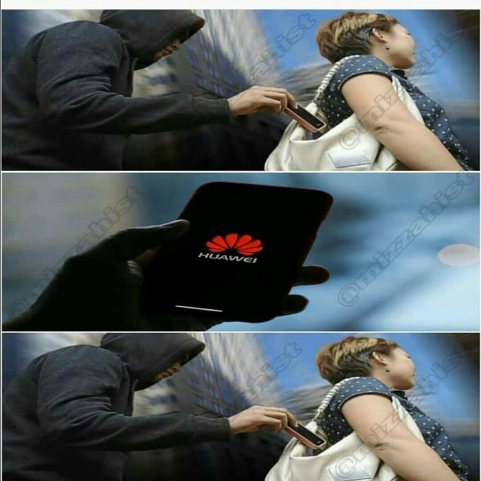 Huawei теперь даже воры не украдут Телефон, Вор, Кража, Huawei