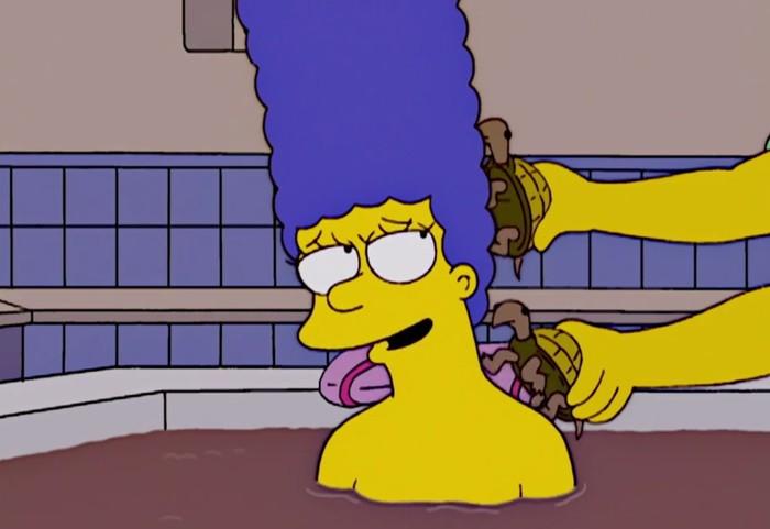 Симпсоны на каждый день [23_Мая] Симпсоны, Каждый день, Черепаха, Гифка, Длиннопост