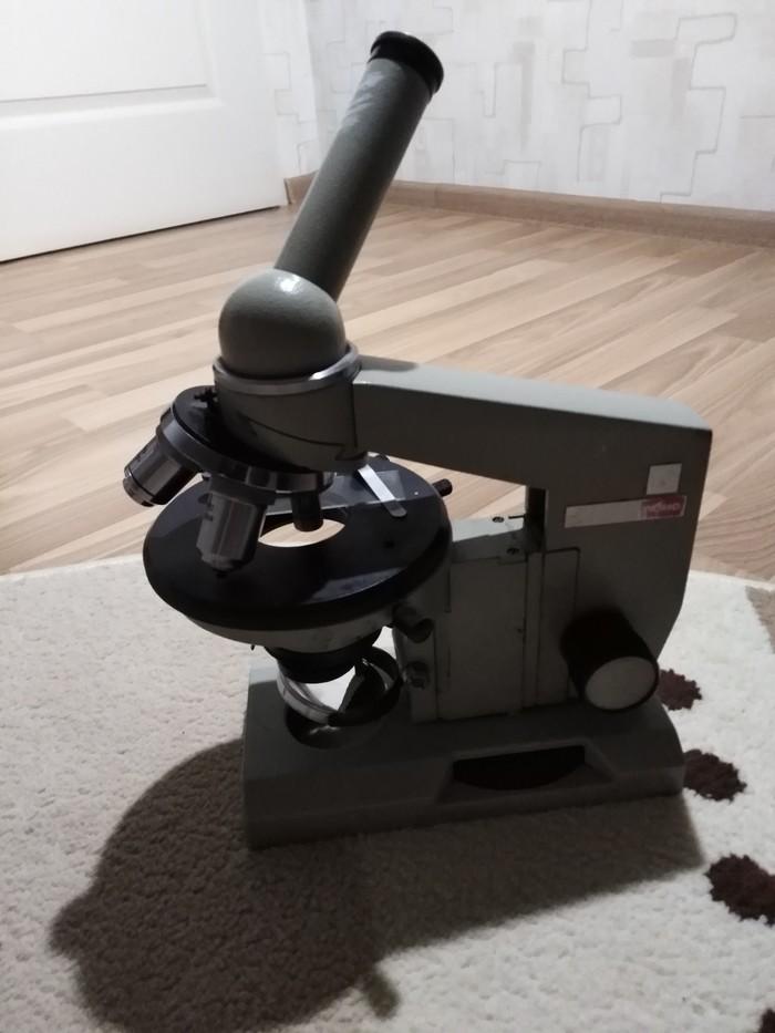 Востановление микроскопа биолам р 11 Микроскоп, Ремонт, Длиннопост