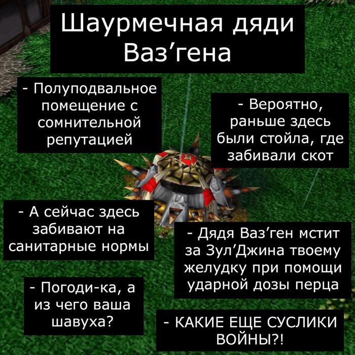 Сложный выбор Врата Оргриммара, Игры, Компьютерные игры, Арт, Warcraft, Warcraft 3, Длиннопост, Мат
