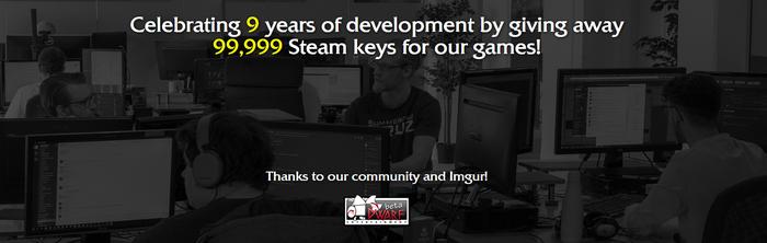 Празднование 9 лет развития Steam, Халява, КК есть