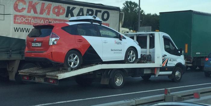 Беспилотные автомобили от Яндекса такие беспилотные