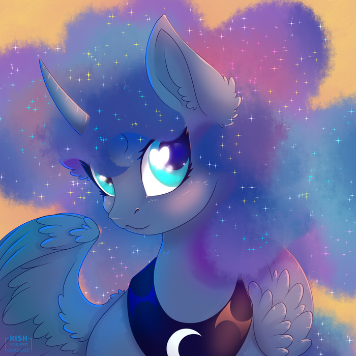 Звёздногривая My Little Pony, Princess Luna, Rish