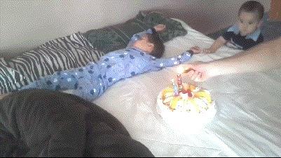 Сюрприз на день рождения от папы