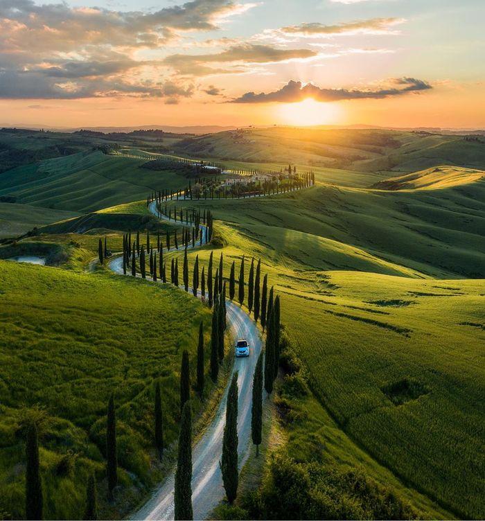 Дорога Тосканы