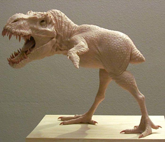 Цыплозавр Курица, Динозавры, Пернатые динозавры, Современное искусство, Скульптура, Длиннопост
