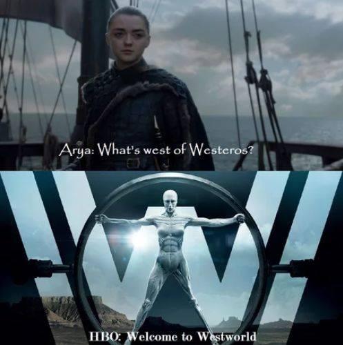 Дорога на Запад Игра престолов, Игра престолов 8 сезон, Спойлер, Арья Старк, Мир Дикого Запада