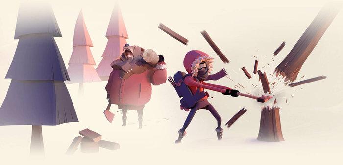 Project Winter – Новый экшен в стиле Настольной Мафии Копьютерные игры Steam, Project winter, Проект Зима, Гифка, Видео, Длиннопост