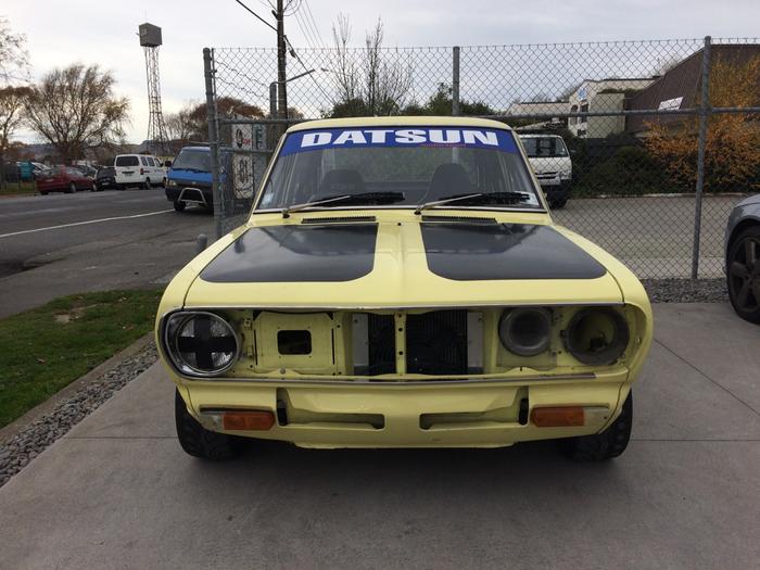 """Гонка"" - Datsun 1200B110 Datsun 1200, Japan rally CAR, Fuji 200-mile, Длиннопост"