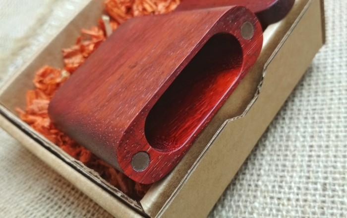 Портсигар для самокруток из Падука Своими руками, Рукоделие без процесса, Дерево, Длиннопост, Портсигар