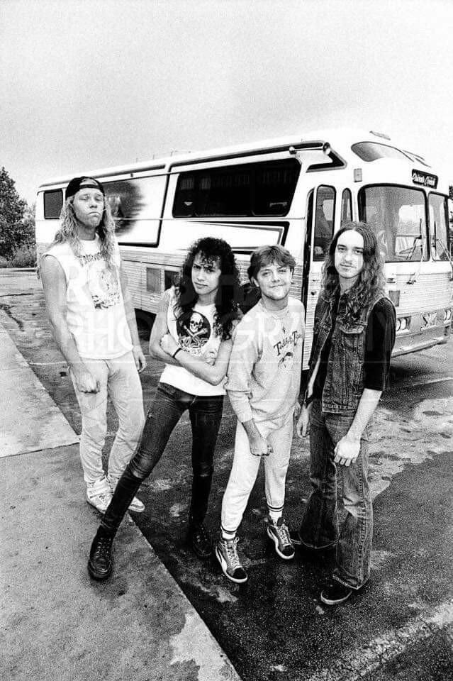 MetallicA... последнее фото с Cliff Burton Metallica, Фотография, Клиффорд Ли Бёртон, Знаменитости