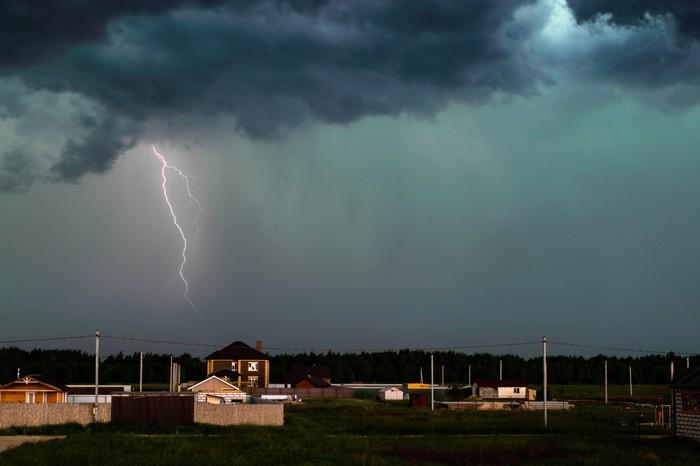 Кажется, будет дождь Гроза, Начинающий фотограф, Молния