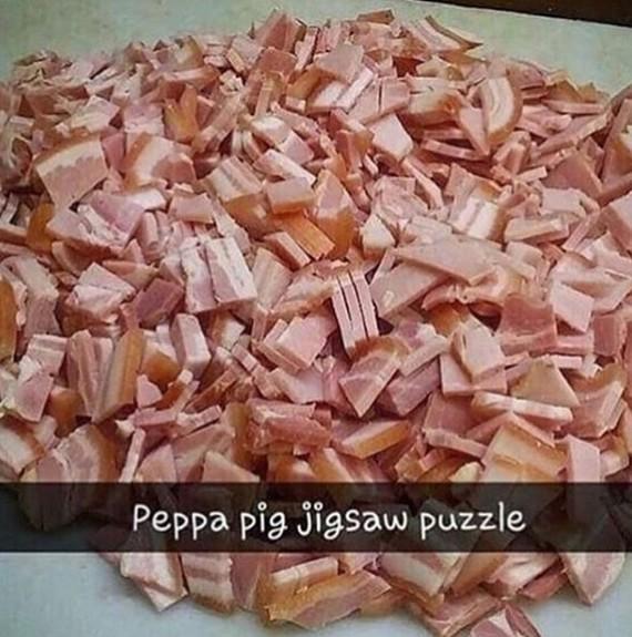 Собери свинку Пеппу Свинка Пеппа, Пазл, Мемы