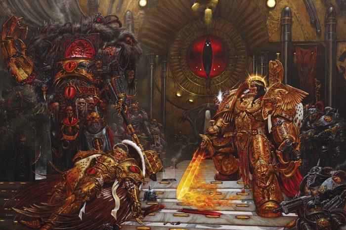 Отцы и дети. «Ересь Хоруса» как мыльная опера в сеттинге Warhammer 40,000 Warhammer 40k, Horus Heresy, Games Workshop, Black Library, Длиннопост, Видео