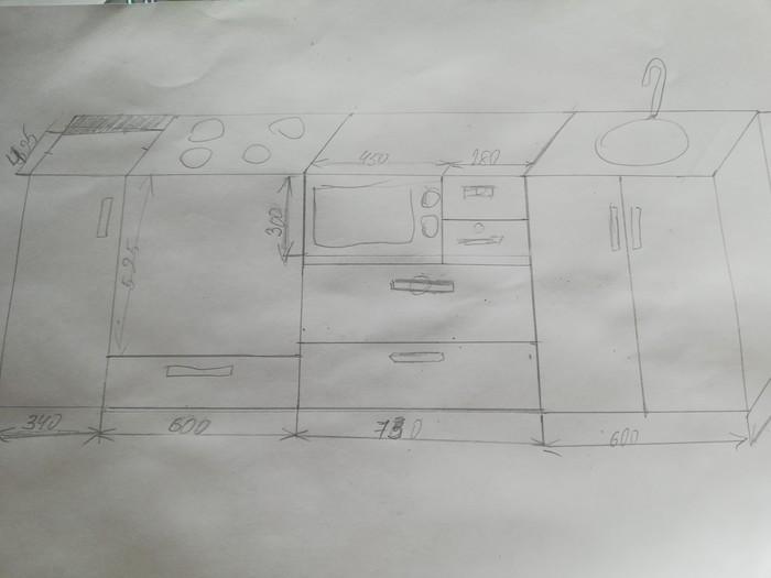 Кухонный гарнитур своими руками Своими руками, Ремонт, Кухня, Видео, Длиннопост