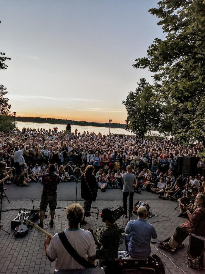 Бесплатный концерт Бориса Гребенщикова Борис Гребенщиков, Концерт, Самара, Длиннопост