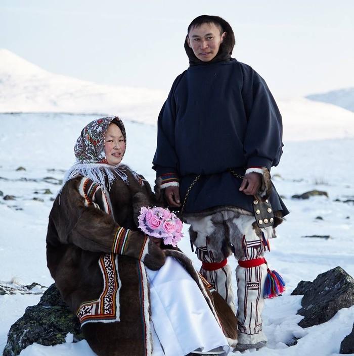 Ямальские жених и невеста Ямал, Жених и невеста, Фотография
