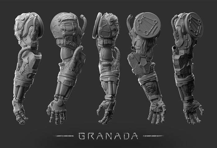 Лицо творческого проекта GRANADA