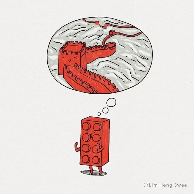 Lego арты LEGO, Арт, Комиксы, Длиннопост, Lim Heng Swee, Heng swee lim