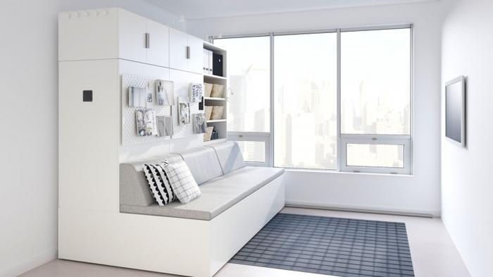 IKEA создала роботизированную мебель для небольших квартир ИКЕА, Мебель, Квартира