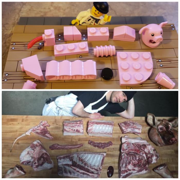 Лего и лего мясника