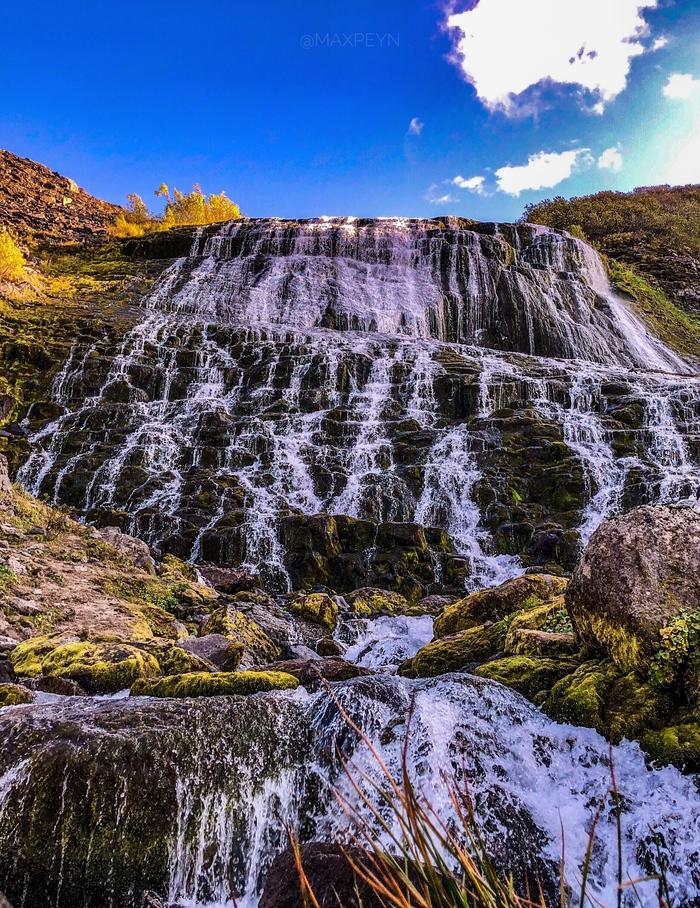 Камчатка водопад медвежий