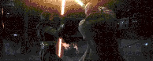 Рубить или колоть? Почему в джедаи и ситхи машут световыми мечами, будто саблями? Star Wars, Фехтование, Джедаи, Ситхи, Гифка, Длиннопост, Яндекс Дзен