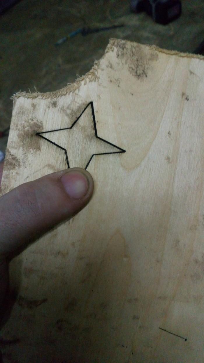 Тест лазера ЧПУ, Лазер, Работа с деревом, Длиннопост