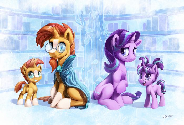 Friends Have Grown My Little Pony, Sunburst, Starlight Glimmer, Tsitra360