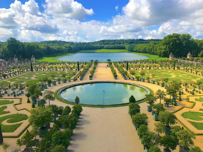 Версальские сады