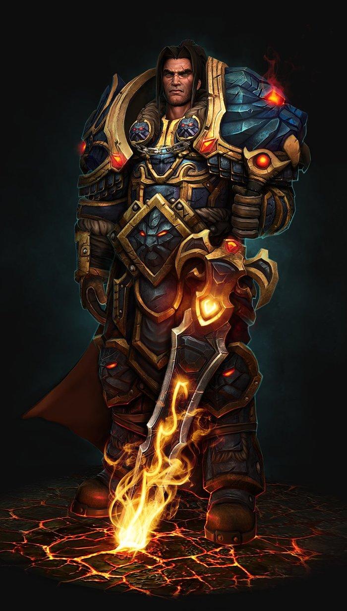 King Varian. Арт, Фан-Арт, Картинки, Альянс, Вариан Ринн, WOW, World of Warcraft, Kevin Lee
