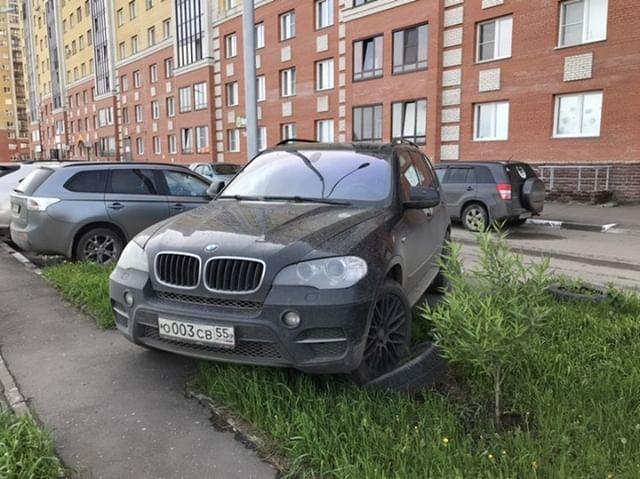 Преступление и наказание Неправильная парковка, Автохам, Наглость, BMW, Омск