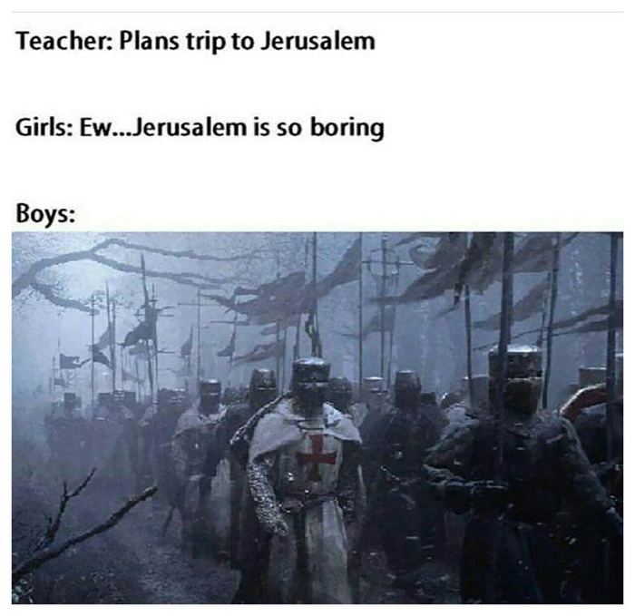 Учитель: планируется поездка в Иерусалим Deus Vult, Иерусалим, Израиль, Крестовый поход