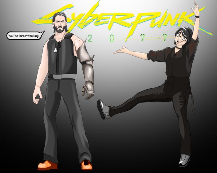 Самые важные новости из E3 E3, Cyberpunk 2077, Киану Ривз, Юмор