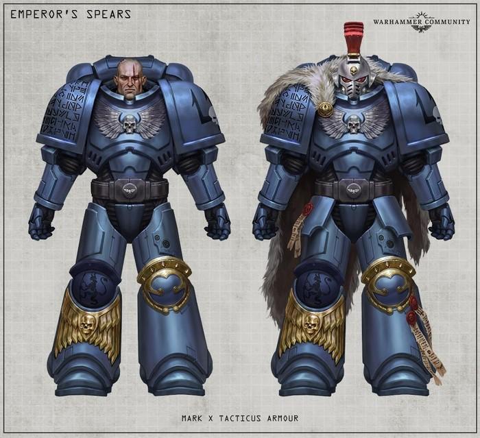 Копья Императора. Warhammer 40k, Wh Art, Космодесант, Длиннопост