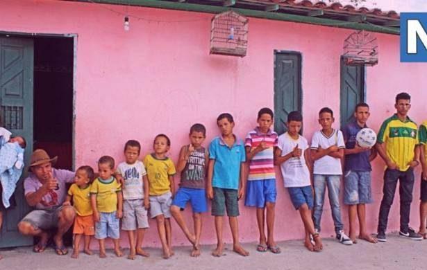 Многодетная пара из Бразилии: 13 сыновей и это еще не точка! Многодетная семья, Жених, Героизм, Дети