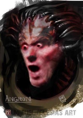 Буйный примарх Warhammer 40k, Wh humor, Angron, Буйный
