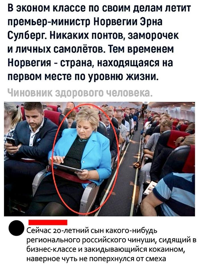 Чиновник здорового человека Чиновники, Норвегия, Премьер-Министр, Вконтакте, Эконом