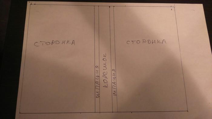 Простой ремонт старой книги, ч. 2 Переплет, Ремонт, Книга своими руками, Длиннопост