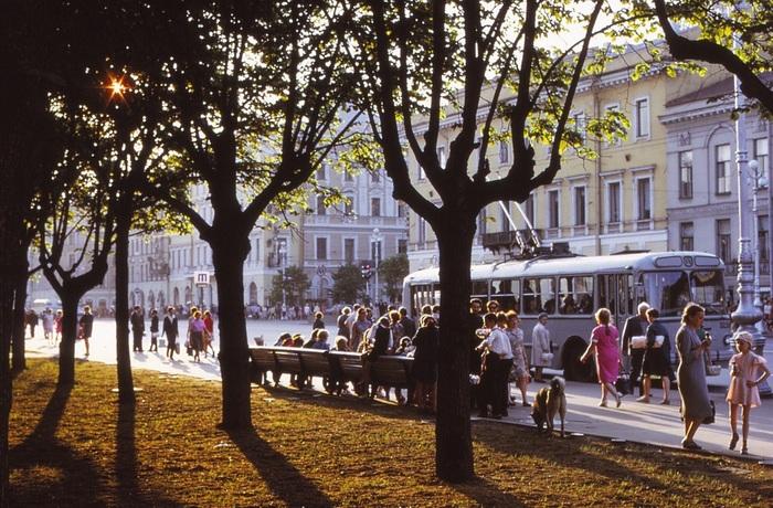 Ленинград и окрестности в 1972 г. СССР, Ленинград, Санкт-Петербург, Humus, Длиннопост, Старое фото