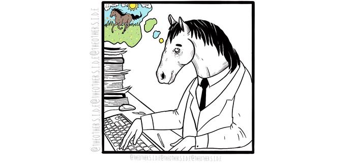 Рабочие будни (альтернативный сюжет) Комиксы, Веб-Комикс, Работа, Рисунок, Длиннопост