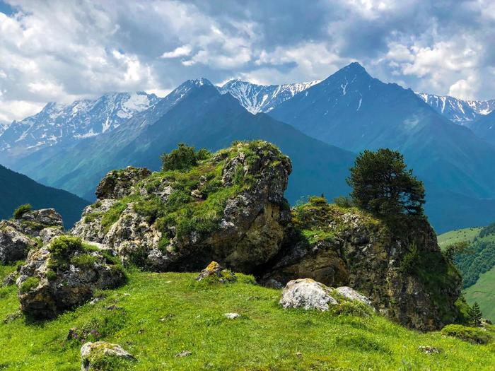 Горная Ингушетия Ингушетия, Кавказ, Горы, Длиннопост