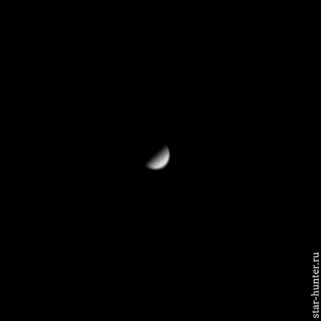 Меркурий, 16 июня 2019 года, 18:48. Меркурий, Планета, Астрофото, Астрономия, Космос, Starhunter, Анападвор, Длиннопост