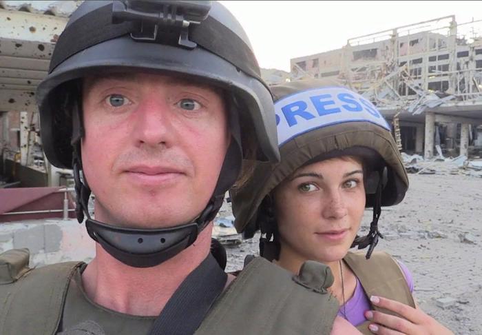 Американский журналист рассказывает правду о событиях в Донбассе Политика, Украина, Донбасс, ВСУ, Обстрелы мирных граждан, Видео, Длиннопост