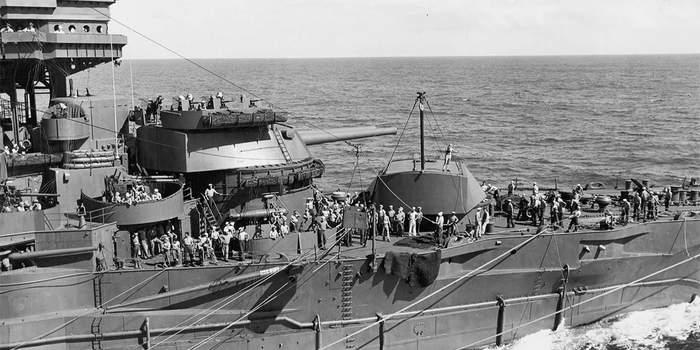 «Тяжёлая кавалерия» Нормандии: как эсминцы переломили исход высадки на Омаха-Бич Длиннопост, История, Война, Десант, Флот