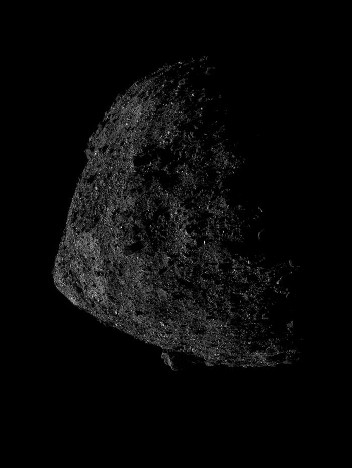 OSIRIS-REx прислал новый детальный снимок астероида Бенну Наука, Астероид, Осирис, Космос
