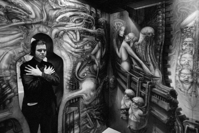 """Руди Гигер: создатель """"Чужого"""" и омерзительная привлекательность Швейцария, Современное искусство, Живопись, Чужой, Аэрография, Гигер, Биография, Длиннопост"""